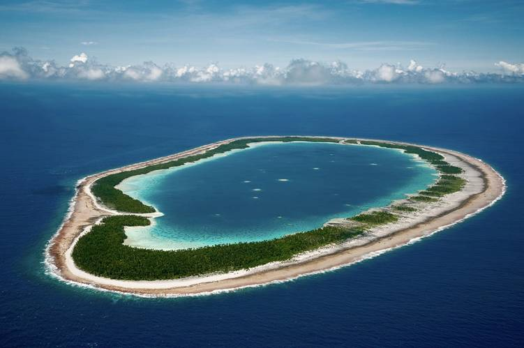 Maria Est Atoll in French Polynesia was surveyed and mapped by KSLOF scientists on the Global Reef Expedition. © Khaled bin Sultan Living Oceans Foundation