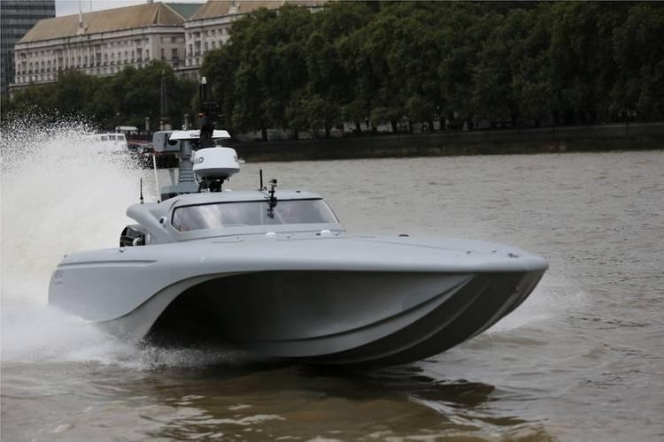 UK's Maritime Autonomy Surface Testbed (MAST)- Crown Copyright