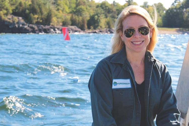 Marybeth Gilliam was brought in a few years ago to help bring the Greensea product and brand to market (Photo: Greensea)