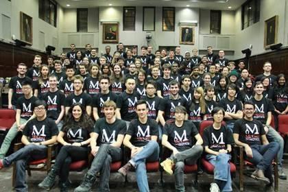 McGill Robotics team members, image courtesy of McGill Robotics