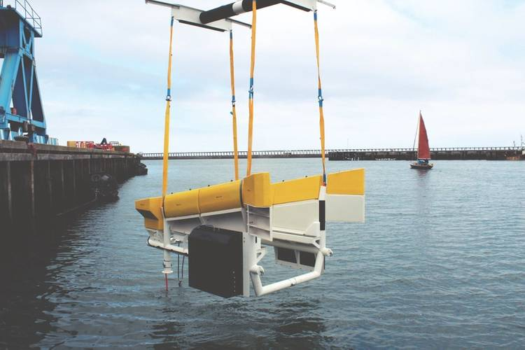 Modus Seabed Intervention's resident  vehicle for offshore wind docking station (Photo: Osbit)