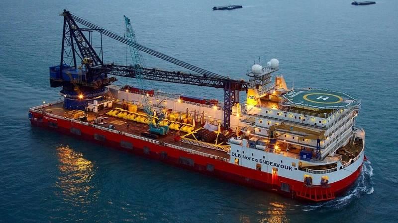 DLB Norce Endeavour (Photo: IKM Subsea Singapore)