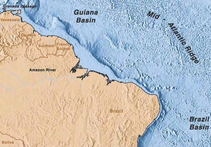 North Brazil Current (Image: RSMAS)