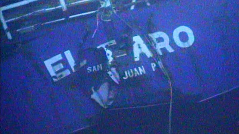 On October 1, 2015, the 790-foot cargo ship El Faro sank near the Bahamas during Hurricane Joaquin. All 33 crew members died in the tragedy.  (Photo: NTSB)