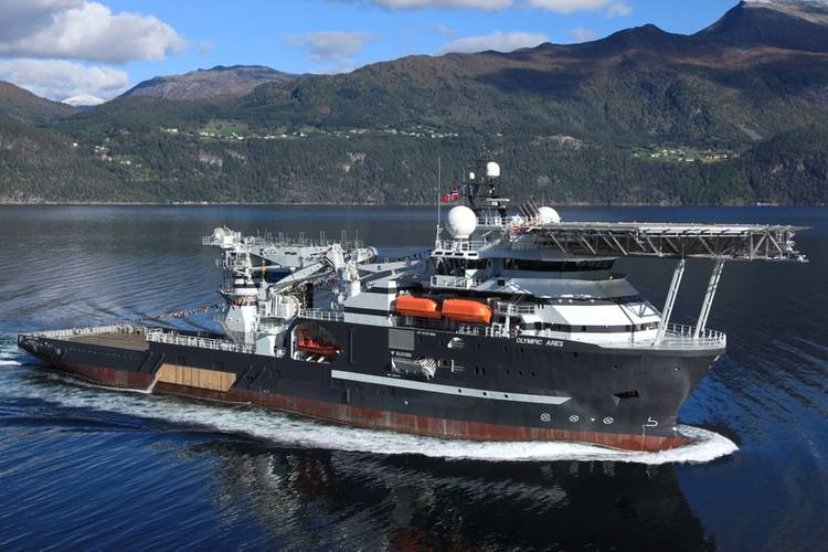 Olympic Ares Photo Bibby Offshore