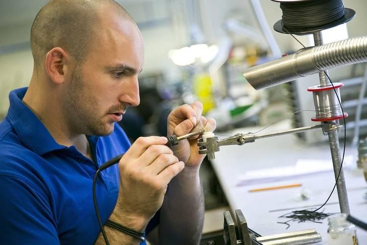 Ricci Davidson, Technician at Hydro Group