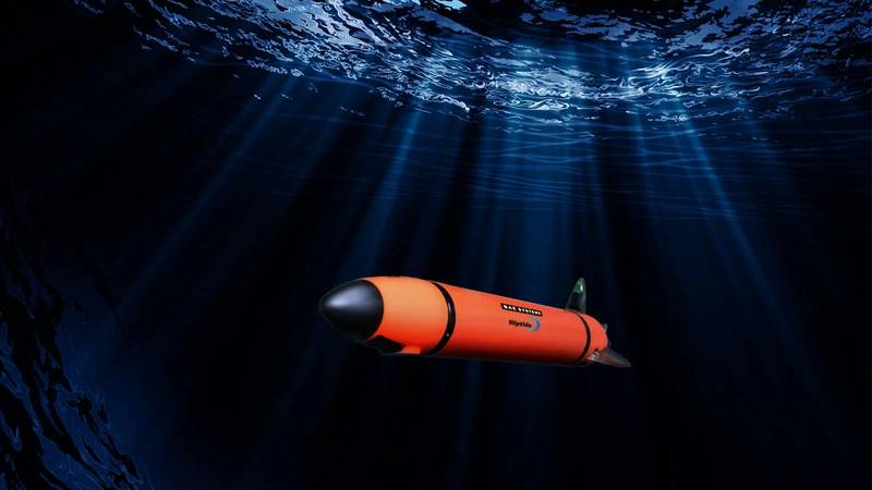 The Riptide AUV (Credit BAE Systems)
