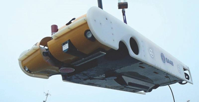 Saab Seaeye's Sabertooth hybrid ROV/AUV (Photo: Saab)