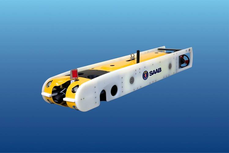 Sabertooth single-hull AUV/ROV.