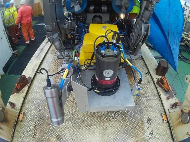 Sensors on board the ROV (Image: DOF Subsea UK)