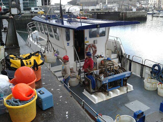 MBA Sepia being loaded