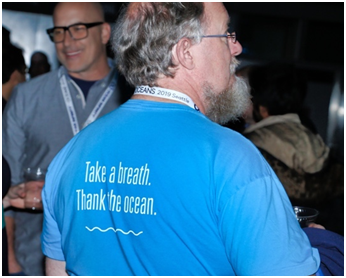 Sometimes the shirt says it all – thanks Al for reminding us! (Photo courtesy of Rick A. Smith)