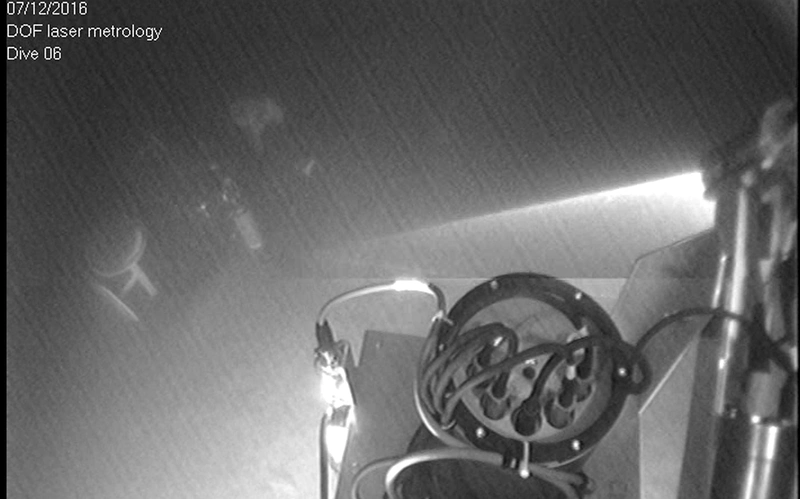 Still of ROV laser acquisition(Image: DOF Subsea UK)