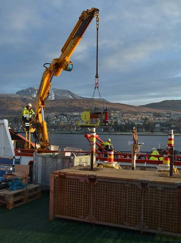 Structures being loaded (Image: DOF Subsea UK)