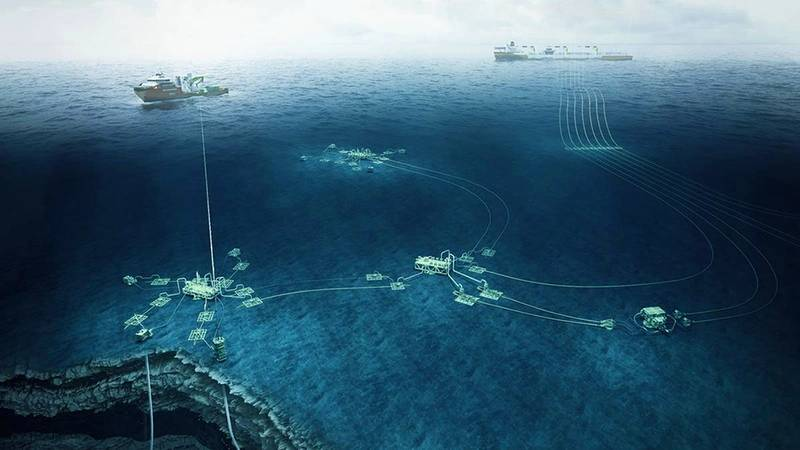 Subsea systems at work. Image: Aker Solutions