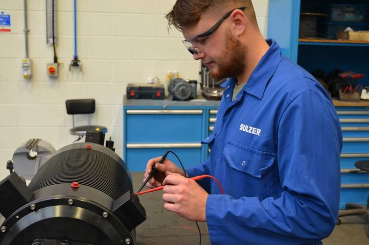 Sulzer's Middlesbrough Service Center has a dedicated work area which ensures high quality components are correctly assembled and tested. (Photo: Sulzer)