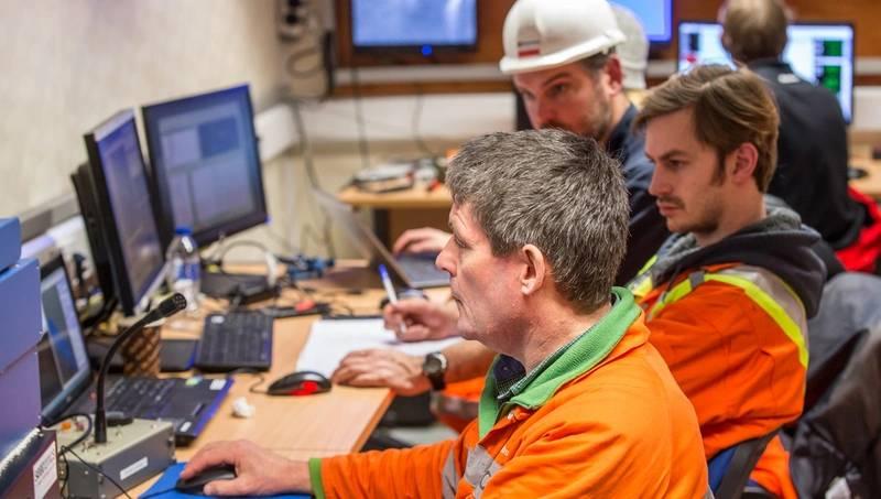 Survey control room (Image: DOF Subsea UK)