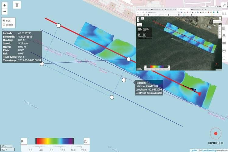 DCT Survey Planning. Image: Norbit