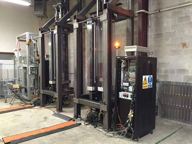 OPT testing equipment at its New Jersey headquarters (Photo: Eric Haun)
