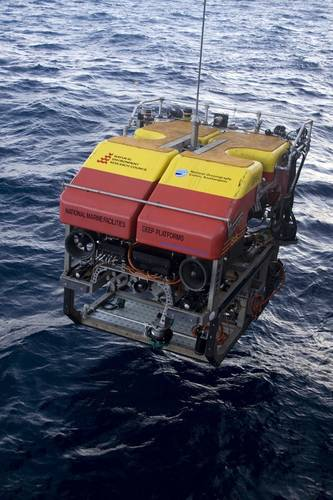 The ROV used in the MarineE-tech research expedition is part of the National Oceanography Center's national marine equipment pool (Photo: NOC)