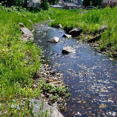 View upstream after Partridge Creek Phase One restoration (Photo: EPA)