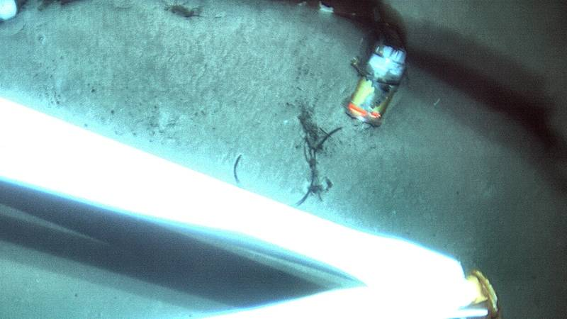 WHOI scientists used deep-sea vehicles, including Sentry to locate the voyage data recorder (above) from the El Faro on the seafloor 15,000 feet deep. The VDR offers clues to understand why the ship tragically sank in 2015, killing 33 crew members aboard. (Photo: NTSB)