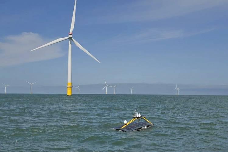 XOcean on an offshore wind survey. Photo courtesy XOcean