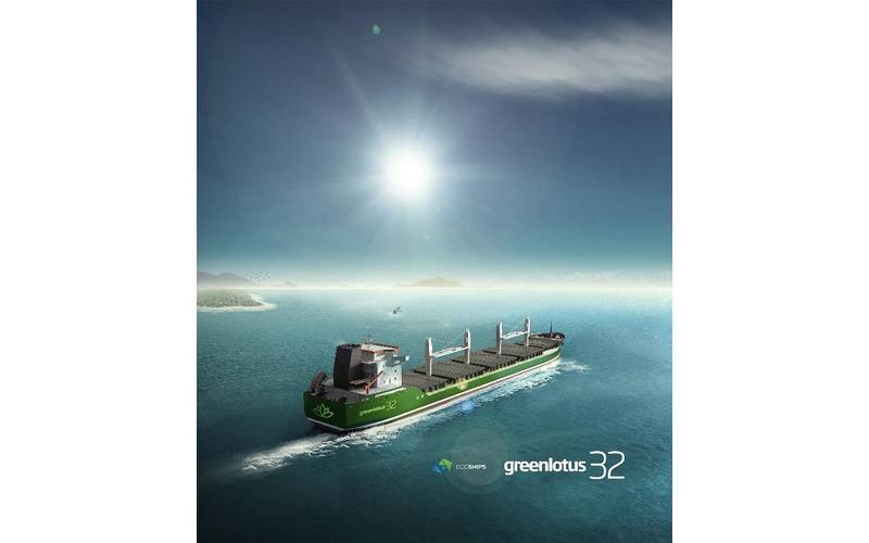 Artist's impression of Ecoships' Eco-Smart Greenlotus 32