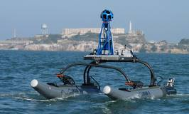 16' WAM-V USV equipped with Google Trekker