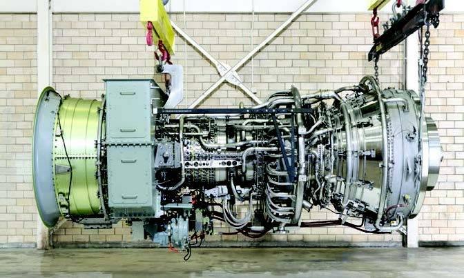 GE's LM6000 marine gas turbine